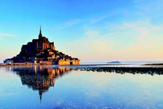 Eau de mer de la Baie du Mont Saint Michel