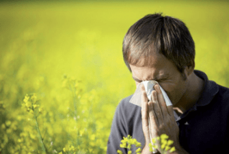 Στην περιπτωση αλλεργικής ρινίτιδας