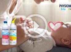 Physiomer Βaby & Kids - Για καθαρές και υγιείς μυτούλες!